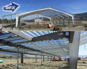 Almacenes prefabricados Hangar Taller de la luz de la construcción de la estructura de acero