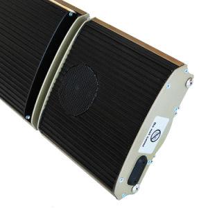 Banheira de novos produtos usados em casa longe de aquecimento por radiação de infravermelhos com leitor de música