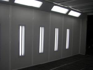 Aufblasbarer Spritzlackierverfahren-Stand-Lack-Raum