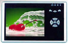 휴대용 미디어 플레이어 & MP4 및 MP3 (Hdd-1)