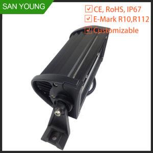 LED CREE 7.5INCH 36W Barre de feux de travail hors tension 4X4 4WD
