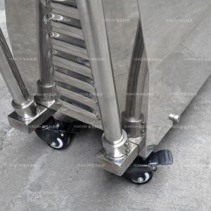 Cizalla de alta velocidad de la bomba de Canalización con embudo y el carro de ruedas