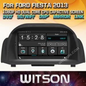 Tela de Toque do Windows Witson aluguer de DVD para a Ford Fiesta 2014