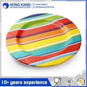 Diseño personalizado parte Unicolor Placas de la cena de melamina de plástico
