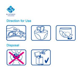 Usine de produits d'hygiène féminine Menstruations jour utiliser des serviettes hygiéniques ultra mince