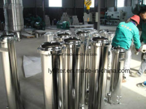 304 de acero inoxidable 316L Ss Caja del filtro de cartucho para tratamiento de agua