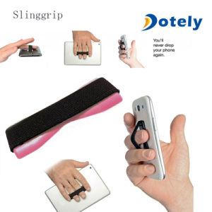Correia elástica cinta de alça de dedo do Smartphone