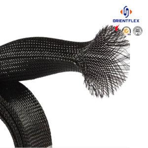Luvas de protecção de Nylon trançada para tubo de borracha