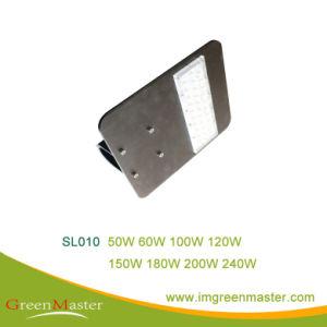 SL010 180W LED de alta calidad de la calle de la luz de cristal templado