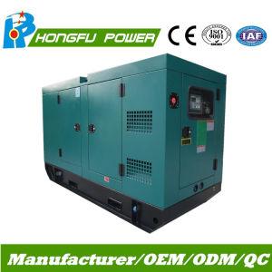 120квт звуконепроницаемых Электроподогревателя генераторной установки с двигателем Perkins