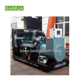 Generatore diesel di potere silenzioso eccellente di Doosan con il motore elettrico 400kw