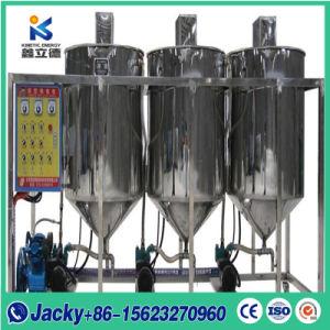 La refinación del aceite de girasol de buena calidad máquina