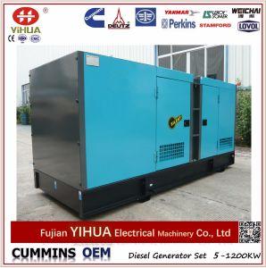 OEM Cummins Dcec и генератор Stamford 120kVA/96kw электрический молчком тепловозный