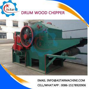 Rama de la madera de bambú los residuos de madera biotrituradora tambor