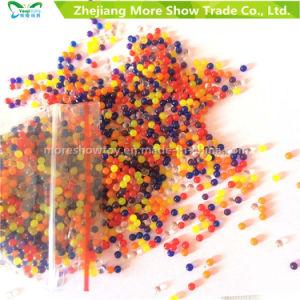 卸し売り水晶土水はセンターピースと結婚する虹の泥のゼリーのゲルの球に玉を付ける