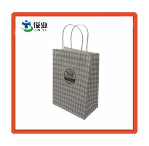 Förderung-Packpapier-Einkaufstasche mit Griffen