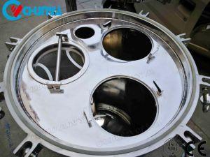 Het roestvrij staal poetste de MultiFilter van de Zak voor de Commerciële Reiniging van het Water op