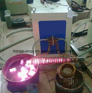 Máquina de aquecimento por indução de freqüência média para a bigorna de ferro forjado