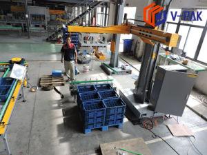 Palletizer automatico/macchina di trasporto con palette per l'imballaggio dei sacchetti delle scatole (V-PAK WJ-SMD-20)