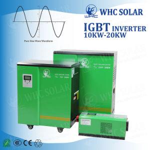 10kw DC96V AC220V reine Sinus-Wellen-Energien-Solarinverter