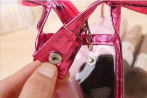 Fashion Polular Lady promotionnels personnalisés des prix de gros sac de cosmétiques en PVC
