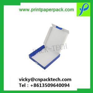 Il lusso progetta la scatola da pasticceria per il cliente bianca della maniglia della scheda con il contenitore di pizza del documento di prezzi competitivi