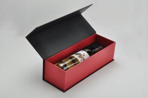OEM MDF деревянные роскошь стеклянную бутылку/Вино бумаги, упаковка Подарочная упаковка