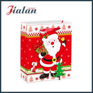 2018의 새로운 크리스마스 성탄 선물 포장 서류상 선물 부대