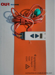 주문을 받아서 만들어진 20L 200L 실리콘고무 전기 패드 또는 매트 또는 히이터