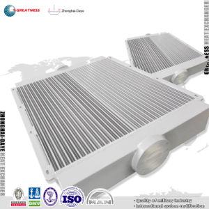 중국에서 공기 Intercooler 공기 후냉각기 관 열교환기 구조 열 교환