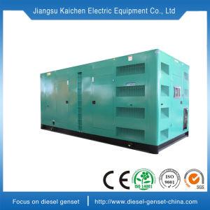 極度の無声ディーゼルGenset 20kw~108kwの交流発電機の音の証拠の発電機