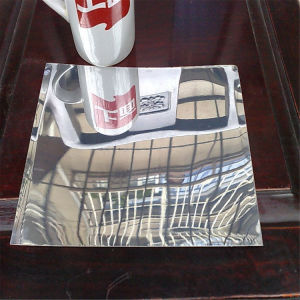 Finition miroir feuille en aluminium anodisé pour l'éclairage