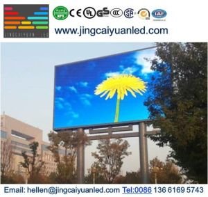 Le bâtiment plein LED de couleur de la publicité de plein air affichage de panneau