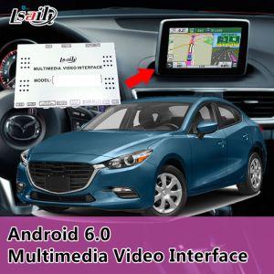 Android 6.0 Interface Vidéo Multimédia Zone de navigation GPS pour Mazda 3