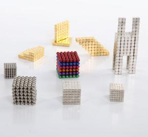 Cubo de imán permanente de la plaza de juguete intelectual para la venta