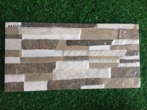 Tegel van de Muur van 3D-Inkjet van het Bouwmateriaal de Matte Rustieke Buiten Ceramische