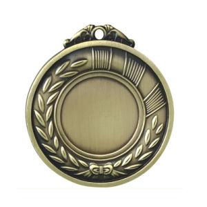 Begrüßtes 2D gravierte kundenspezifische Goldinnenmarathon-Medaille (113)