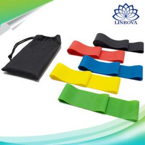 Fascia di gomma di addestramento di concentrazione di yoga di resistenza della strumentazione di ginnastica di forma fisica