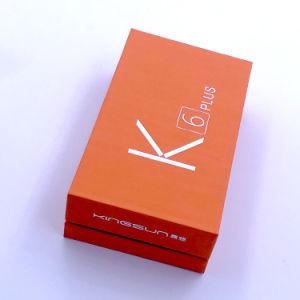 صنع وفقا لطلب الزّبون برتقاليّ [كلور برينتينغ] [جفت بوإكس] لأنّ [موبيل فون]/منتوجات إلكترونيّة