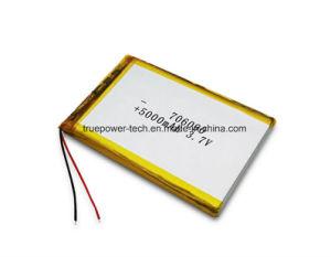 정제 PC를 위한 Tpp706090 5000mAh 리튬 중합체 건전지