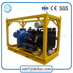 Una sola etapa Horizontal de gran volumen de la bomba de agua con motor Diesel
