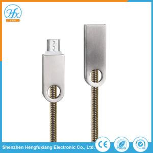 Cavo di collegare elettrico mobile di carico di dati del USB del collegamento del telefono 5V/1.5A