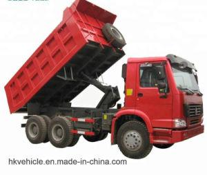 De midden Opheffende Vrachtwagen van de Stortplaats van Sinotruk 6X4 HOWO