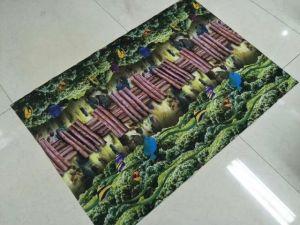 Напечатано полиэстер коврик с ПВХ для резервного копирования