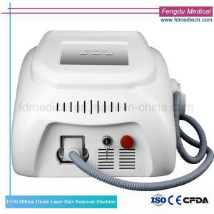 Macchina portatile di rimozione dei capelli del laser del diodo 808nm dell'OEM per il salone di bellezza