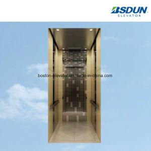 Гидравлический лифт со стороны пассажира