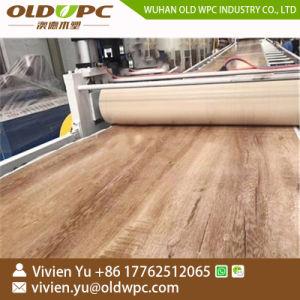 Plancher en plastique spc/Feuille de revêtement de sol/Conseil Décisions et de l'Extrusion/production/extrudeuse