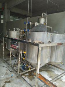 500L de las refinerías de petróleo crudo de petróleo Vegatable máquina refinador de aceite de cocina
