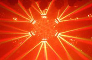16*10W CREE 4en1 moviendo la cabeza de la luz de la etapa de la barra de DJ de discoteca