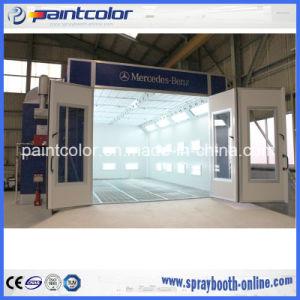 Certificado CE Alquiler de cabina de pintura en Spray Spray stand personalizado por completo el proyecto con el gasóleo calefacción de los principales proveedores